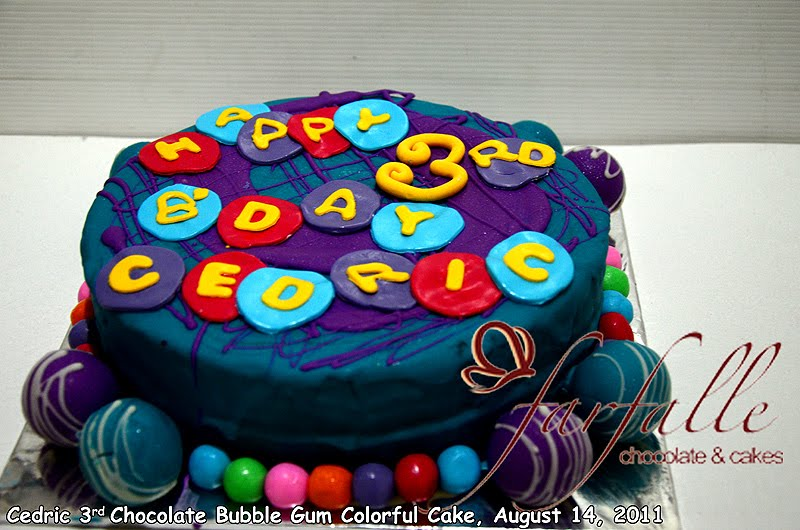 Farfalle Chocolate Amp Cakes Mickey Mouse Cake Bubble Gum
