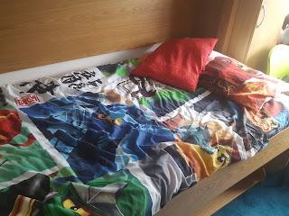 Dan Jon's bed