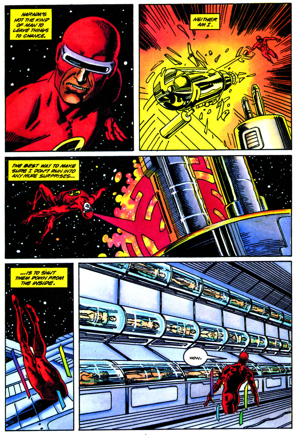 Read online Solar, Man of the Atom comic -  Issue #41 - 15
