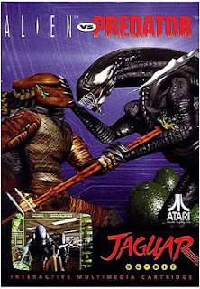 Alien vs Predator game cartridge artwork