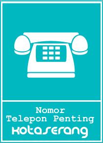 Daftar Nomor Telepon Penting Kota Serang, Kabupaten Serang