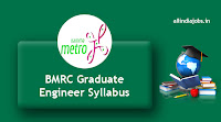 BMRC Graduate Engineer Syllabus