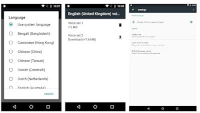 Logra que Android te lea textos en voz alta (síntesis de voz)