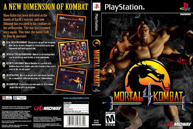 Download game mortal kombat 4 ps1 | Mortal Kombat 4 Game