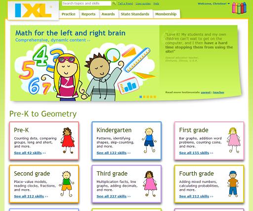 Homeschool Curriculum Buyers Coop IXL