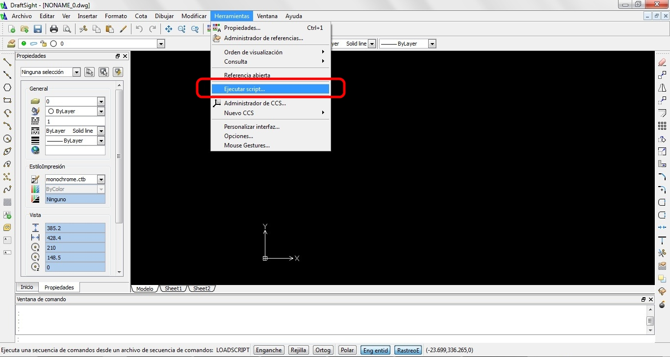 Ingeografos: DraftSight y los archivos * SCR