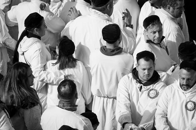 Festa di Sant'Agata a Catania-Giro esterno-Processione dei fedeli