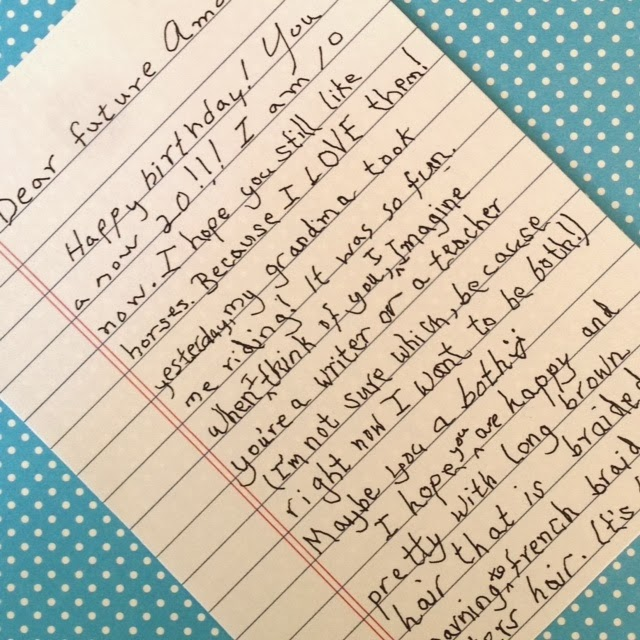what to write in a time capsule letter - Peopledavidjoel