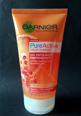 Garnier Pure Active Fruit Energy Gel Esfoliante Energizzante