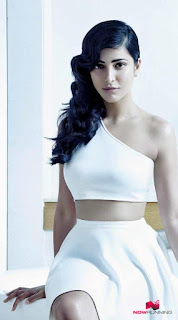 Shruti Haasan in white bikni