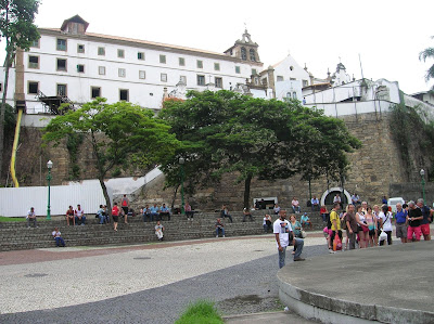 Convento de Santo Domingo, Rio de Janeiro, Brasil, La vuelta al mundo de Asun y Ricardo, round the world, mundoporlibre.com