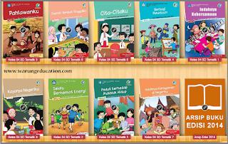 Perbedaan Tema Tematik Kelas 4 Cetakan Th. 2014 Dengan Edisi Revisi Th. 2016 kurikulum 2013