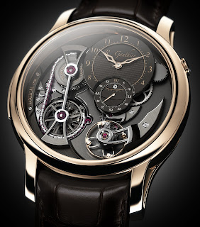 Montre Romain Gauthier Logical One mécanisme à force constante à transmission fusée-chaîne