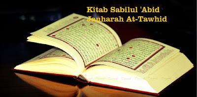 Kitab Sabilul 'Abid Jauharah At-Tawhid, Sholeh Darat