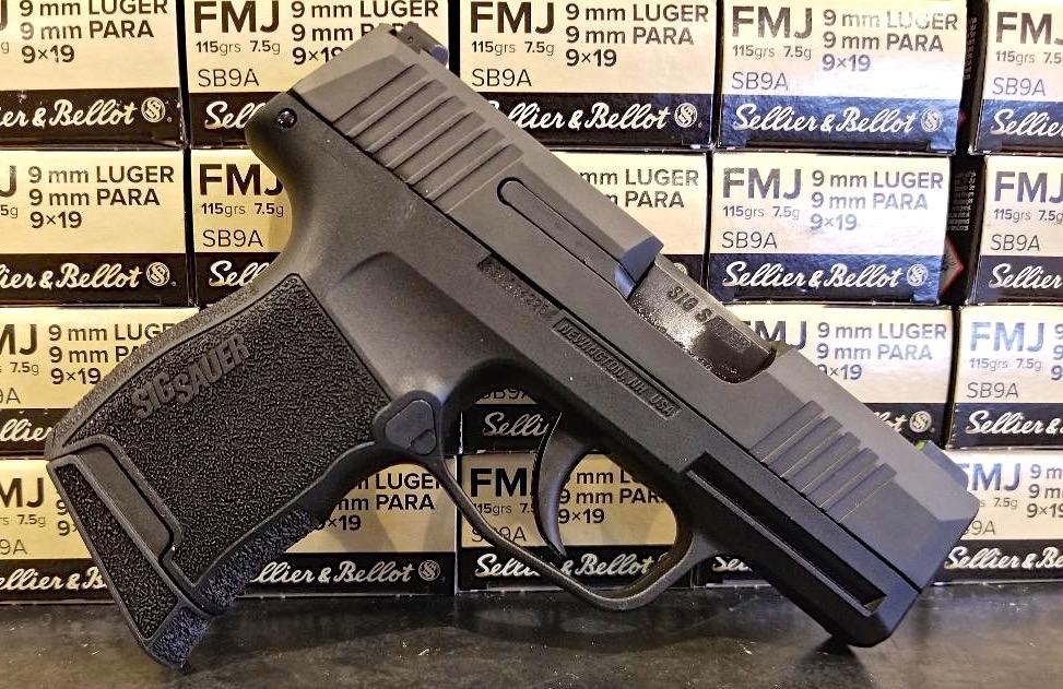 Sig p365 vs glock 43