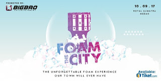 Cari tiket murah event foam the city