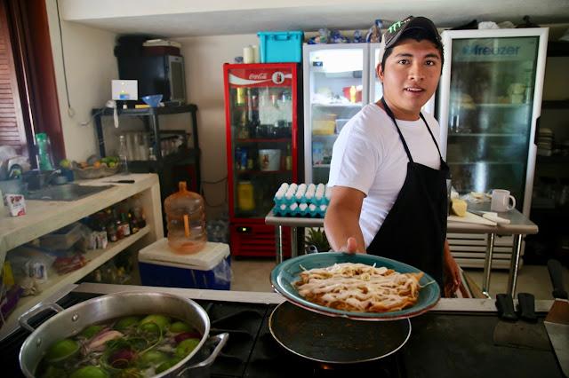 casa maya restaurant  holbox,yucatan, mexico