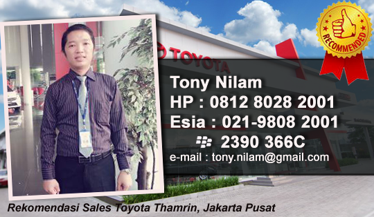 Rekomendasi Sales Toyota Jakarta Barat