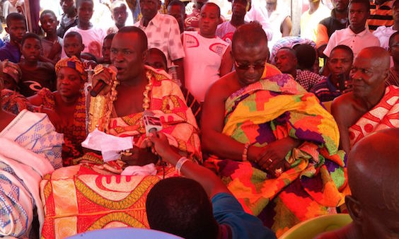 You're a hero - Chief of Upper Dixcove tells Akufo-Addo