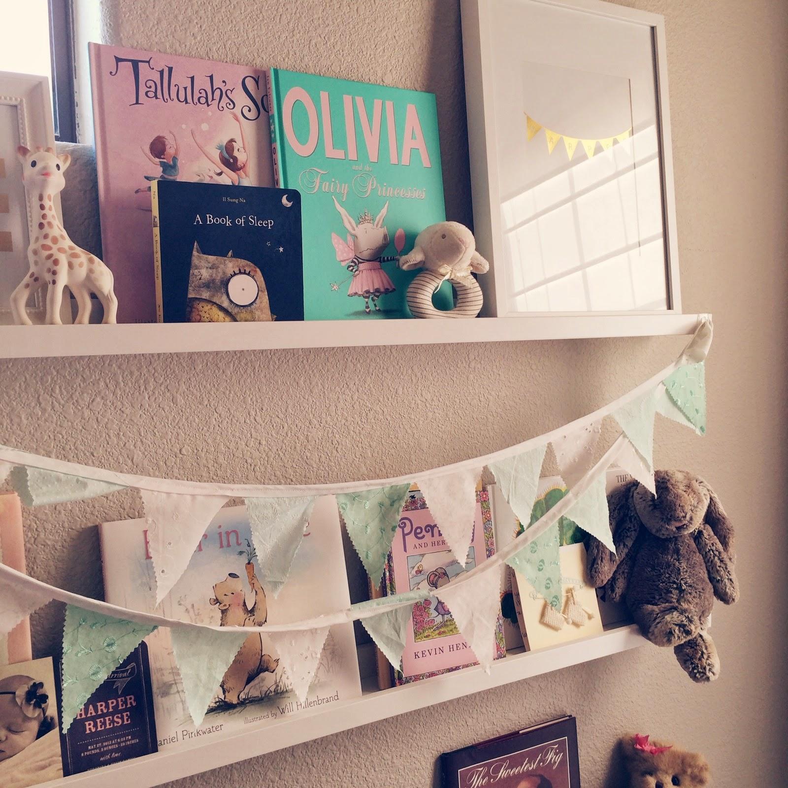 Veronika's Blushing: Harper's Nursery- Updated