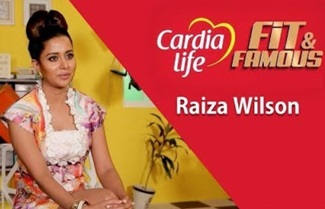 Actress Raiza Wilson on her Fitness Regime | Fit and Famous | JFW