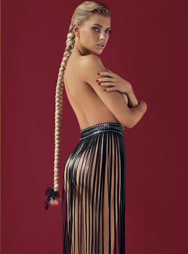 Charlotte McKinney naked GQ Magazine Mexico