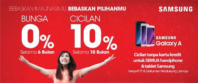 Kredit HP Samsung DP Murah 10 Persen