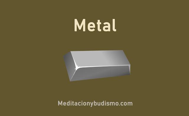 Elemento chino - El metal
