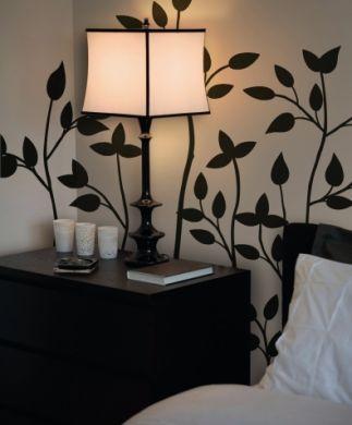 Arredamenti moderni idee per decorare i muri gli adesivi for Stickers per muri