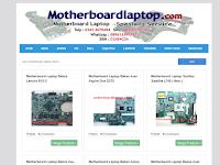 Anda butuh motherboard laptop ? Disini solusinya.