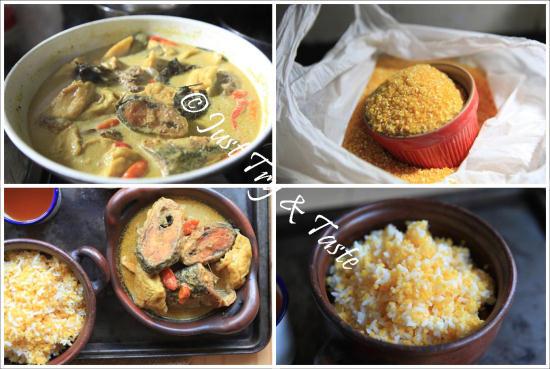 Nasi Minyak Dan Ayam Masak Merah Sedap Hidangan Pagi Raya