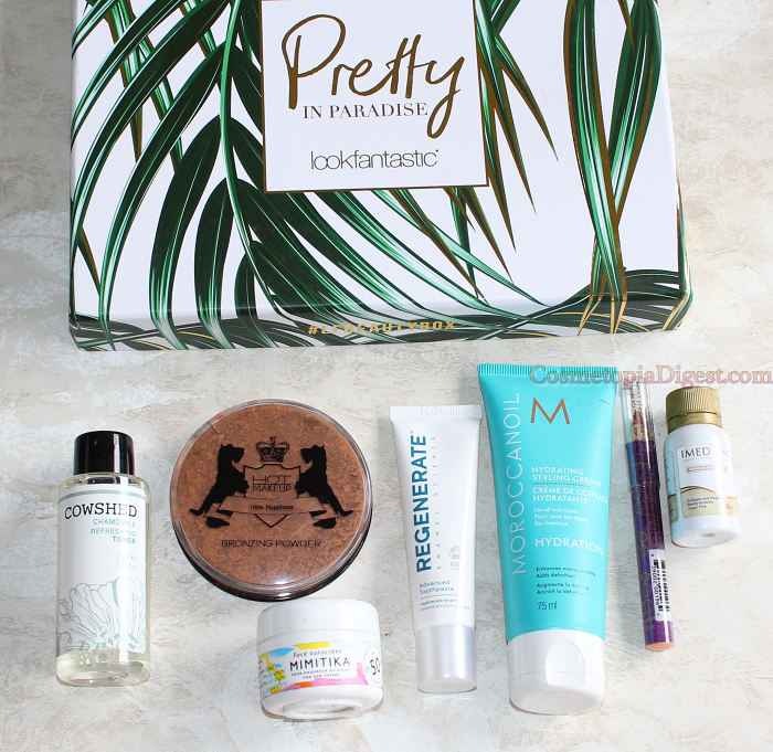 Unboxing and review of the LookFantastic Beauty Box July 2017.