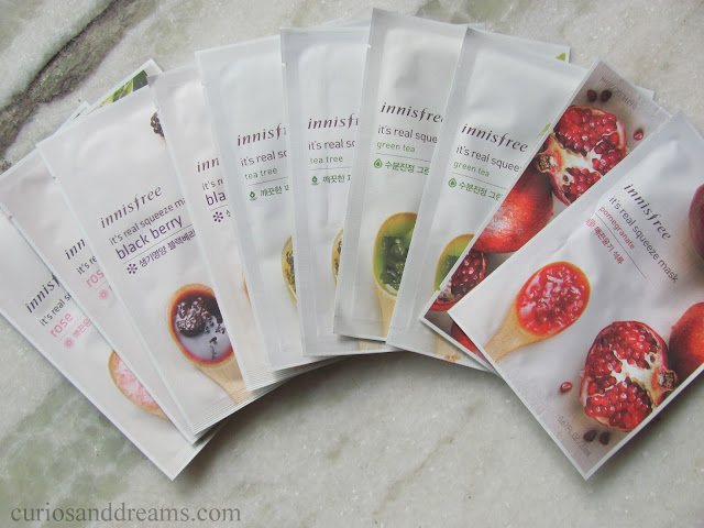 Innisfree It's Real Squeeze Mask review