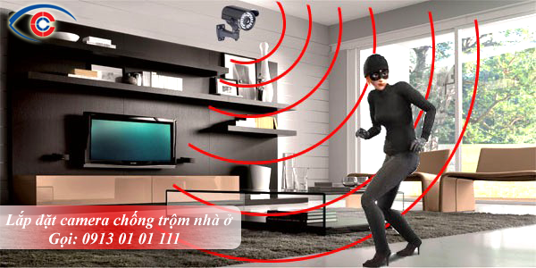 Lắp đặt camera quan sát chống trộm cho nhà ở