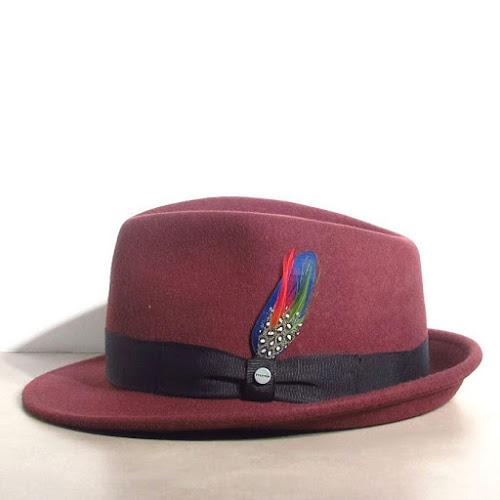 Chapeau bordeaux Stetson