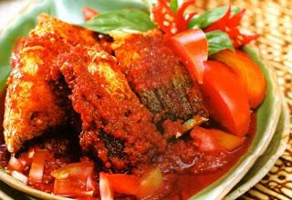 Masakan Pindang Ikan Tongkol Balado