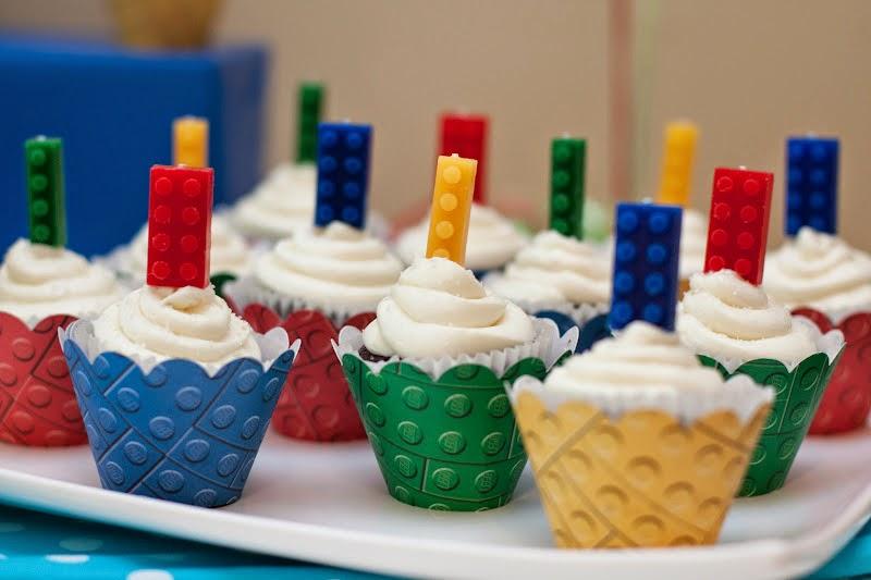 Cake Inspiration Lego Cupcakes