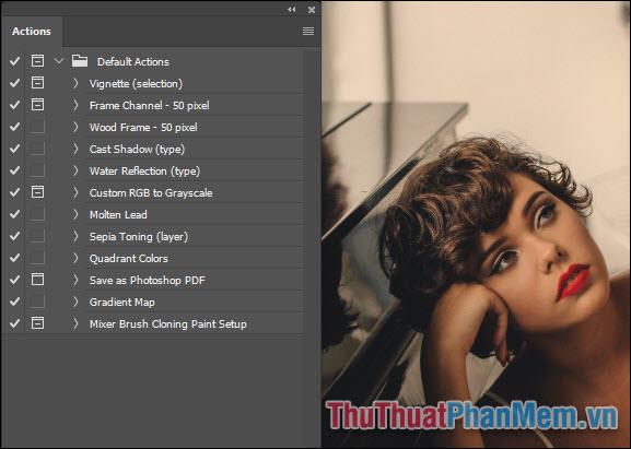 Cách tạo Action trong Photoshop để xử lý ảnh hàng loạt