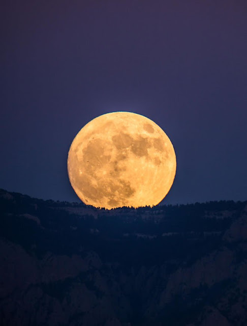 Supermoon 6 di Mexico