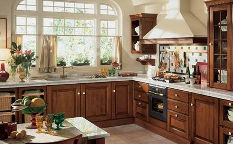 Muebles y Decoracin de Interiores Cocina Rstica Italiana