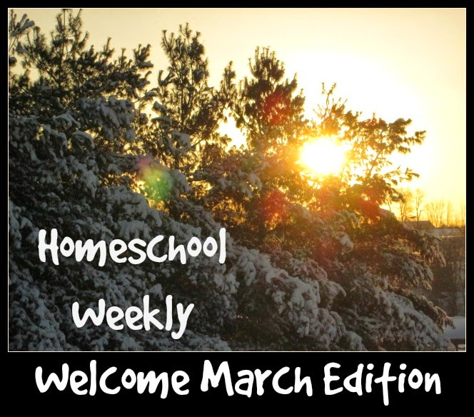 Homeschool Weekly - Welcome March @ kympossibleblog.blogspot.com