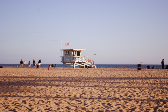 Santa Monica Pier, Santa Monica, Los Angeles, California