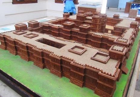 Réplica del palacio de la reina de Saba