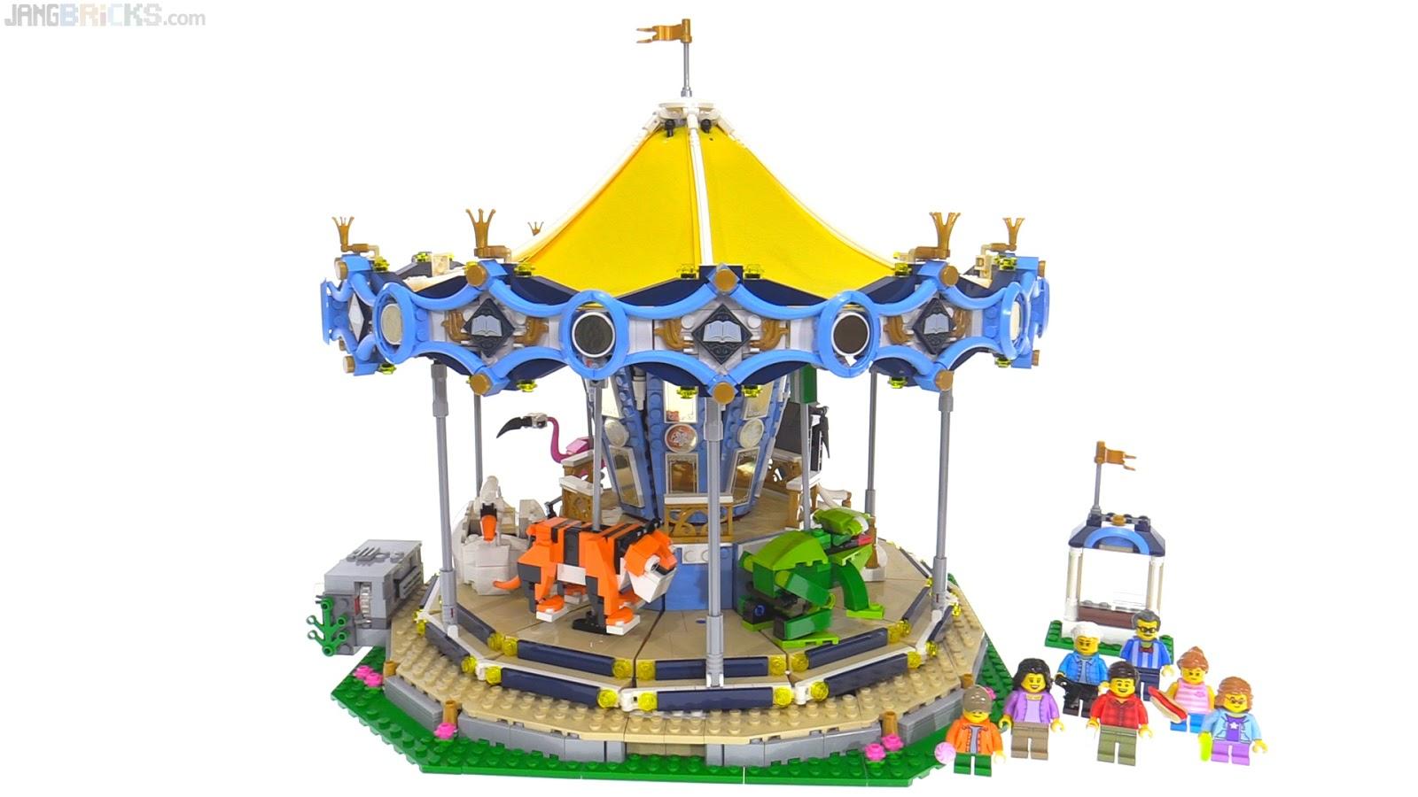 LEGO Creator 2017 Carousel build & review videos 10257