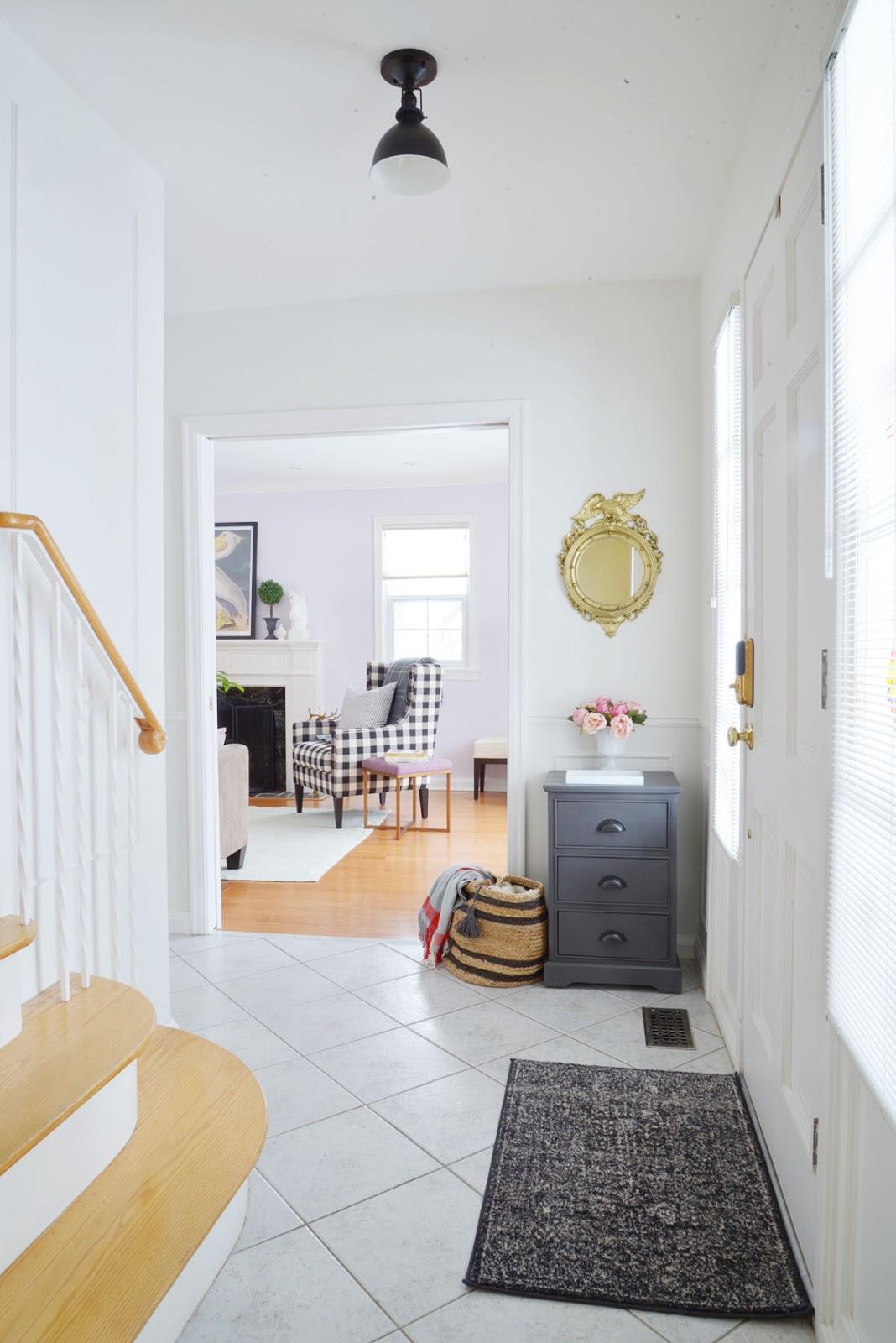 Small Foyer Makeovers : Small entryway makeover rambling renovators