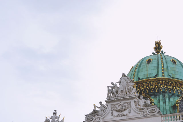 Hofburg Palace Dome Vienna