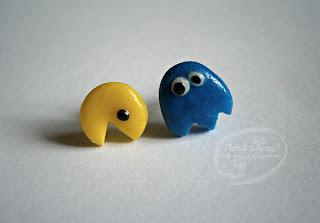 Pacman i atak ptaków!