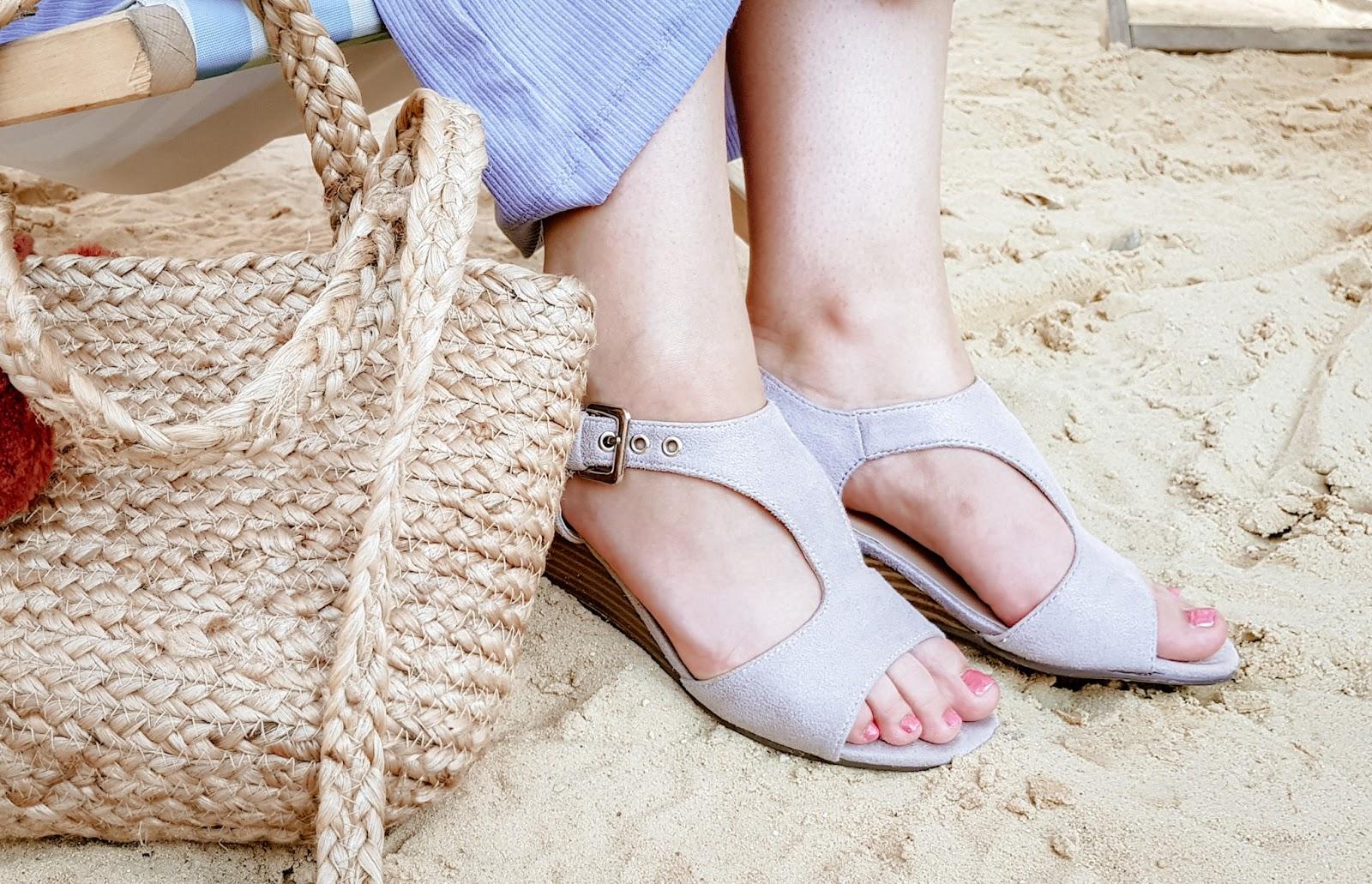 Sandałki na lato wygodne