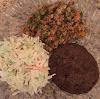 Quinoa-Salad-Veggie Burger