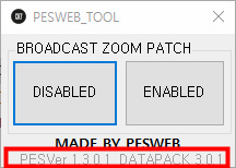 PES 2019 Broadcast Camera ZOOM Disabler for DATAPACK 3.0.1 by PESWEB